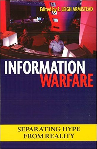 "Book Cover for ""Information Warfare""  by Leigh Armistead"