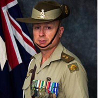 Professional Photo of Lieutenant Colonel Matt Smith, DSM