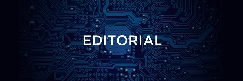 Stylized Image of the Word Editorial