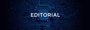 Styled image of the word Editorial